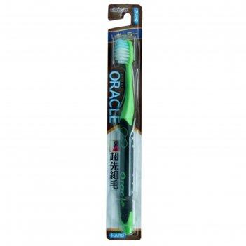 Зубная щетка ebisu со стандартной чистящей головкой, комбинированным ворсо