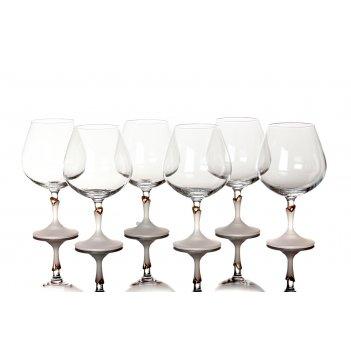 Набор бокалов для коньяка из 6 шт.лили 400 мл. (...
