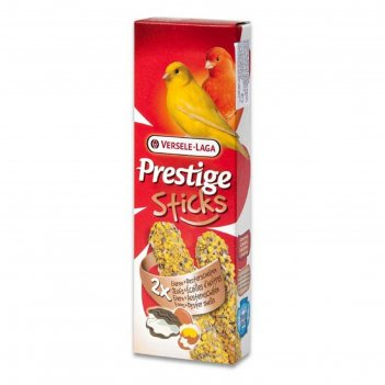 Палочки versele-laga prestige палочки для канареек, с яйцом и ракушечником