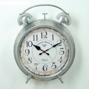 Часы настольные будильник, под старину, 63х47х14 см