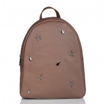 Рюкзак молодежный, иск.кожа,47118 9с826к45 коричневый св.