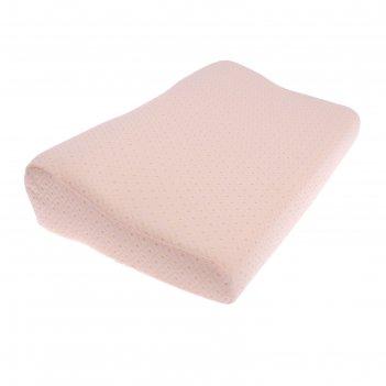 Подушка ортопедическая (для взрослых с эффектом памяти антихрап и выемкой