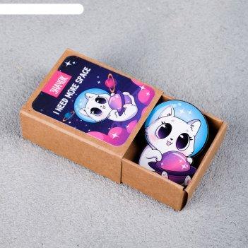 Значок в коробочке space 5 х 4 см