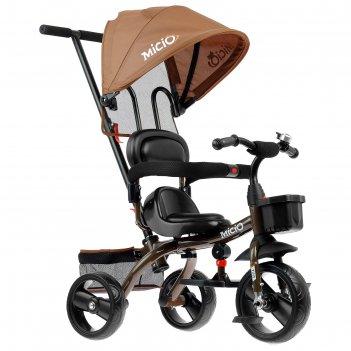 Велосипед трехколесный micio gioia, колеса eva 10/8, цвет бежевый