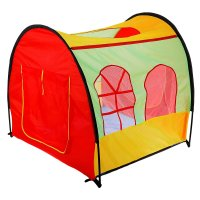 Игровая палатка дом-арка, разноцветная
