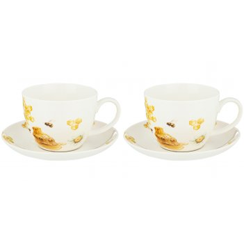 Набор чайных пар на 2 персоны lefard honey bee 450мл (кор=12наб.)