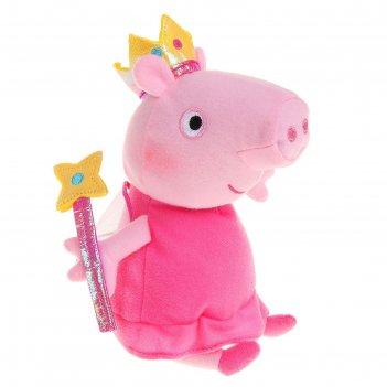 Мягкая игрушка «пеппа-фея с палочкой»