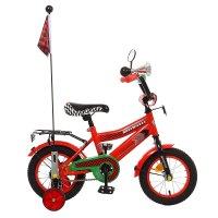 Велосипед двухколесный 12 graffiti premium racer, цвет: красный