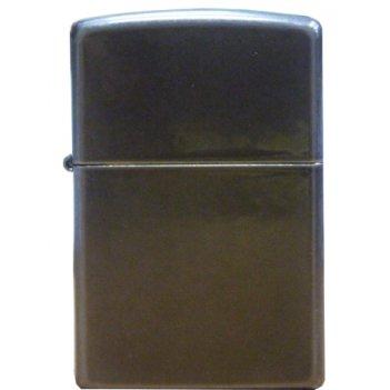 Зажигалка zippo black ice, латунь с никеле-хромовым покрытие