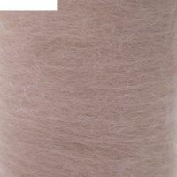 Шерсть для валяния кардочес 100% полутонкая шерсть 200гр (192 розов. кварц