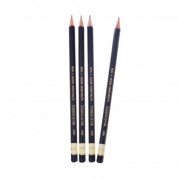 Набор 4шт карандаш ч/г k-i-n проф1900 н (2474716)