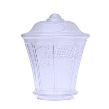 Светильник венчающий «монреаль» прозрачный цвет прозрачный