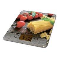 Весы кухонные, платформа из стекла 18*20*1,5 см. м...