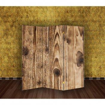 Ширма древесина обожженная, 160 x 150 см