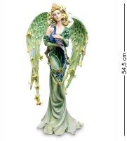 Ga-74 статуэтка ангел с павлином