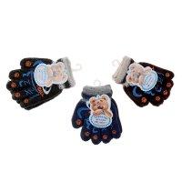 Перчатки детские с шерстью collorista р-р 14 баскетбол микс, утепленные, 8
