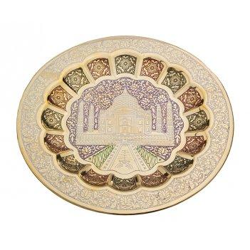 Тарелка декоративная диаметр=24 см. (мал-10/кор=80...