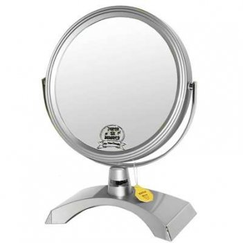 Зеркало b7 300 s3/c silver настольное 2-стор. 5-кр.ув.18 см.