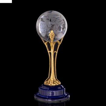 Глобус декоративный хрусталь