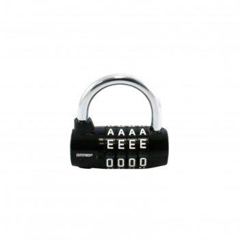 Замок навесной аллюр вс1к-60/7 (hd01), кодовый, d=7 мм, черный