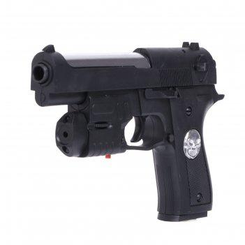 Пистолет агент, с лазером