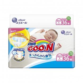 Подгузники goo.n nb (0-5 кг), 36 шт.