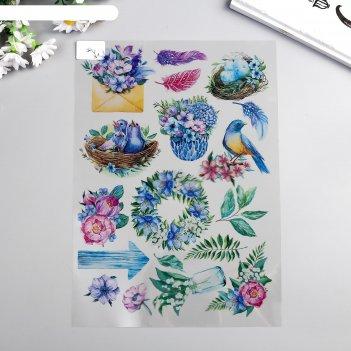 Оверлей colorful spring 21х29,7 см