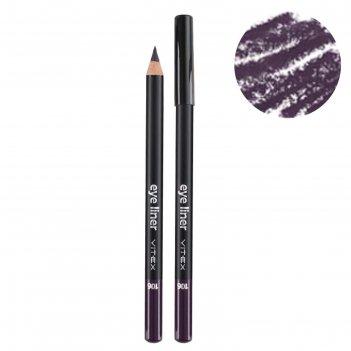 Карандаш для глаз vitex, тон 106 violet контурный