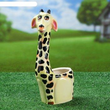 Кашпо жираф, 1 л
