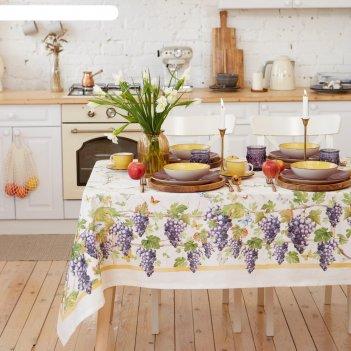 Набор столовый этель provence, скатерть 220х150 +/- 3см, салфетки 12 шт