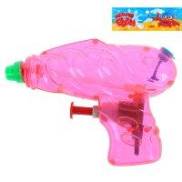 Пистолет водный летний бум, цвета микс