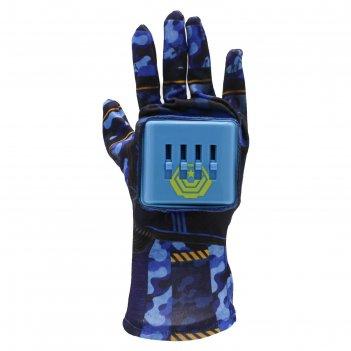 Перчатка-бластер glove blaster «военный отряд» + 10 пуль