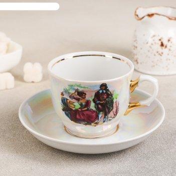Чайная пара 250 мл тюльпан. мадонна, блюдце 15 см