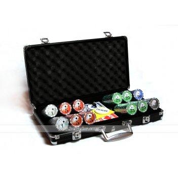 Покерный набор 300 фишек royal flush 12гр