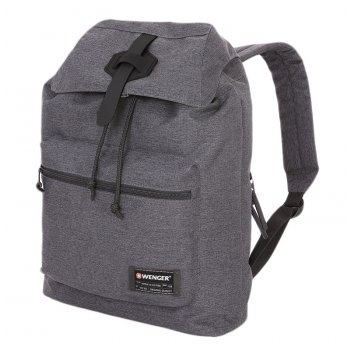 Рюкзак из ткани grey heather с отделением для ноутбука 13 (15 л) wen