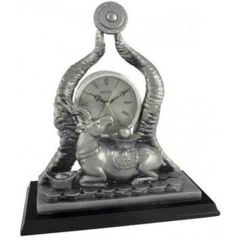 Скульптурные часы из полимерных смол восток к4737-5