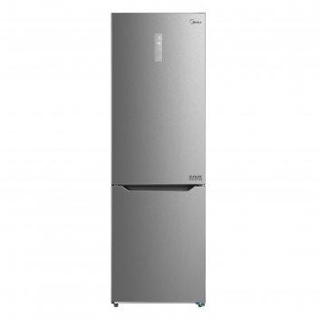 Холодильник midea mrb519sfnx1, двухкамерный, класс а+, 325 л, no frost, се