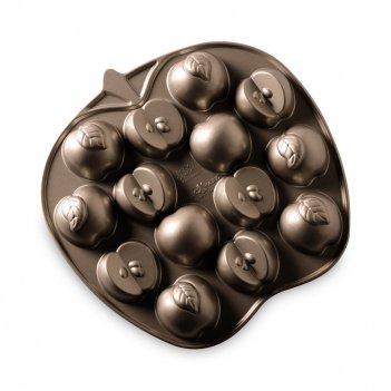 Форма для выпечки «дольки яблок», объем: 700 мл, материал: алюминий, цвет: