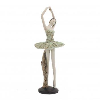 Фигурка декоративная балерина, l14 w14 h35 см