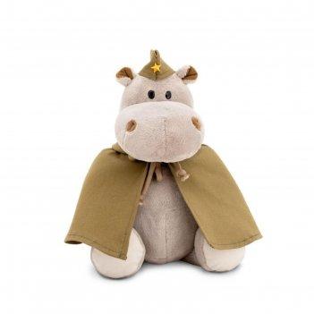 Мягкая игрушка бегемот: солдат, 20 см mc1997-53/20