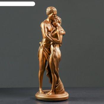 Статуэтка влюбленные средняя, бронза