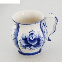 Чашка голуб рапсодия, гжель
