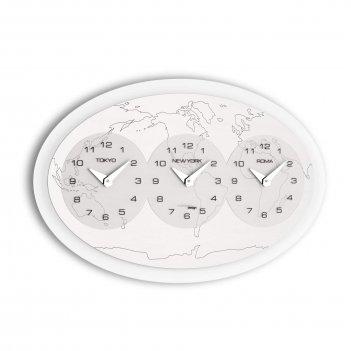 Настенные дизайнерские часы  tre ore nel mondo