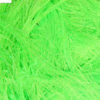 Пряжа decofur 100% полиэстер 110м/100гр (551 зеленый неон)