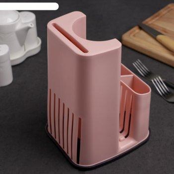 Сушилка для столовых приборов, 15х13х20 см, цвет микс
