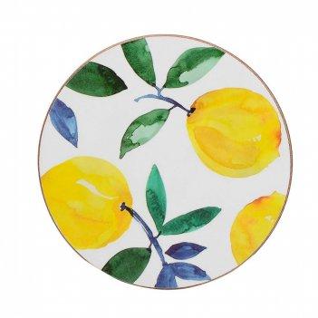 Creative tops набор из 4 подставок lemons 29х29