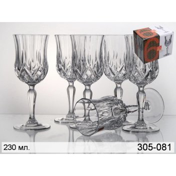 Набор бокалов для вина из 6 шт.опера 230 мл.