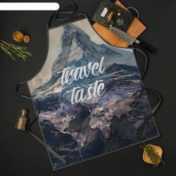 Фартук travel the taste 65*80см,100% п/э,оксфорд 210г/м2