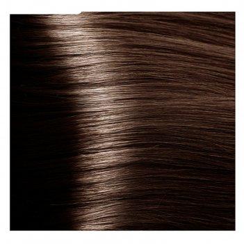 Крем-краска для волос kapous с гиалуроновой кислотой, 5.31 светлый коричне