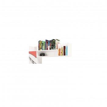 Надстройка навесная la-man, 1200 x 274 x 526 мм, цвет красный